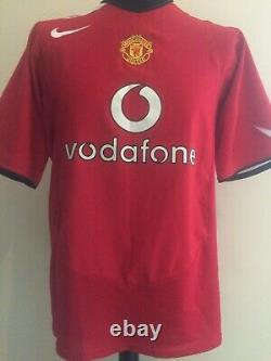 Manchester United Number 16 2004 Shirt Signed Roy Keane With Guarantee