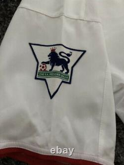 Manchester United Ole Gunnar Solskjaer Match Worn Signed Shirt