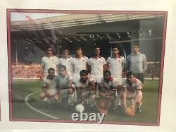 Manchester United Signed 1968 European Cup Final Programme