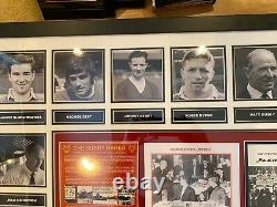 Manchester United Signed Busby Babes