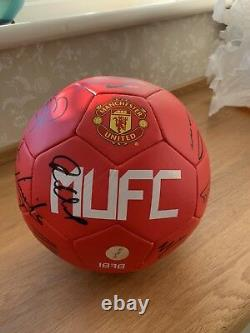 Manchester United Signed Football