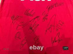 Manchester United Signed Shirt 2010/11 Season Official Direct Club COA Champions
