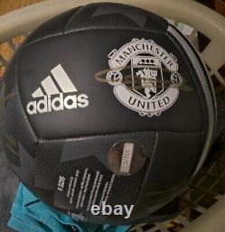 Manchester United Squad Signed Ball Club Coa Man Utd Adidas
