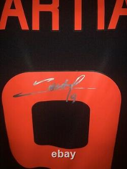 Match Worn/ Issued Manchester United Europa League 2016- Martial Signed Shirt