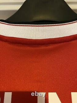 Match Worn Manchester United 2015 Champions League signed shirt Blind 17 Adidas