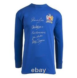 Multi Signed Manchester United Shirt 1968 European Cup Winners Autograph