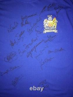 Multi Signed Manchester United Shirt By Legends & Ex Players With Guarantee