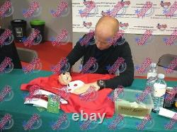Nicky Butt Signed Manchester United 1999 Champions League Final Shirt Proof Coa