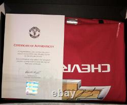 Official Certified Signed Manchester United Marcus Rashford Top (19/20 Season)