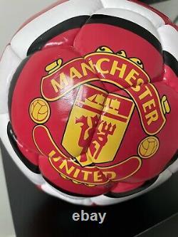 Ronaldo Signed Manchester United Nike Total 90 Swift Football 2008 To Jack
