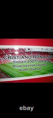 Ronaldo manchester united shirt signed