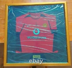 Ruud Van Nistelrooy Signed Framed Manchester United shirt 2003, new and sealed