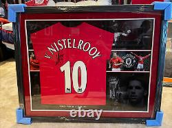 Ruud Van Nistelrooy Signed Manchester United shirt