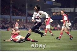 Ryan Giggs Signed Shirt Manchester United Autograph 1999 Jersey Memorabilia COA