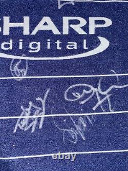 Signed Manchester United 2000 Rare Away Shirt Sheringham Solskjaer Butt Yorke