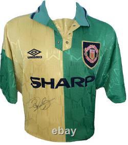 Signed Ryan Giggs Retro Manchester United Newton Heath Third Shirt Umbro 2