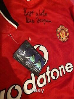 Sir Alex Ferguson Signed Manchester United Shirt 2001/2002