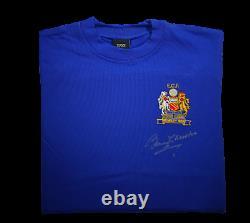 Sir Bobby Charlton Hand Signed 1968 European Cup Final Manchester United Shirt