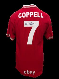 Steve Coppell Signed Manchester United 1977 Fa Cup Final Shirt With Coa & Proof