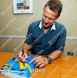 Teddy Sheringham Signed Manchester United Programme Champions League Final 199