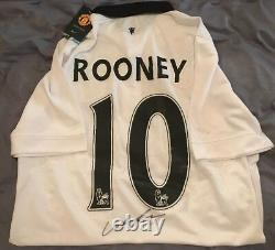 Wayne Rooney Autographed Signed Manchester United POLO SHIRT JSA STICKER ONLY