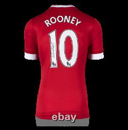 Wayne Rooney Manchester United Autographed/signed 2015-16 Jersey Icons Authentic