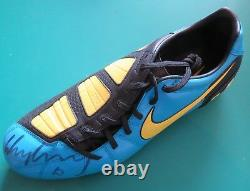 Wayne Rooney Signed Football Boot Derby County Manchester United England AFTAL