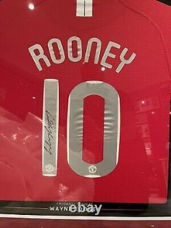 Wayne Rooney Signed Manchester United 2008 League Champions Shirt COA