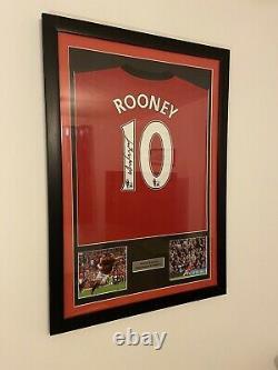 Wayne Rooney Signed Manchester United Football Shirt 2009/10