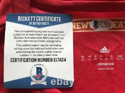 Wayne Rooney Signed Manchester United Jersey Beckett Authentic